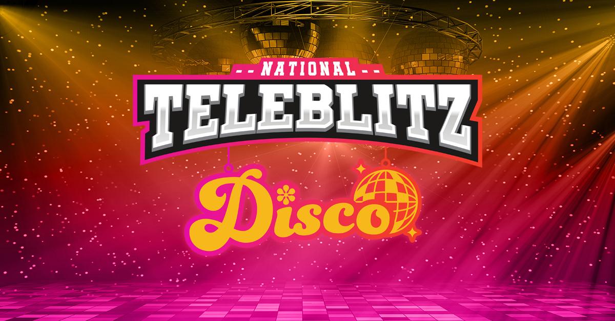 Disco-Themed National Teleblitz Real Estate Event